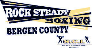 Rock steady Bergen County logo