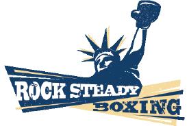 rock steady boxing logo jersey