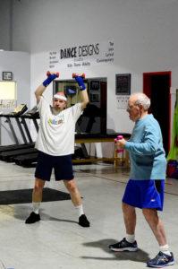 Parkinson's boxing coaching new jersey