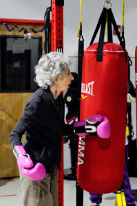 old people exercise to fight Parkinson's